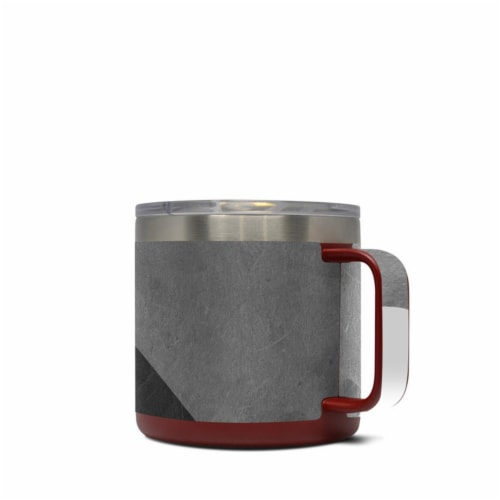 DecalGirl Y14-SLATE Yeti 14 oz Mug Skin - Slate Perspective: front