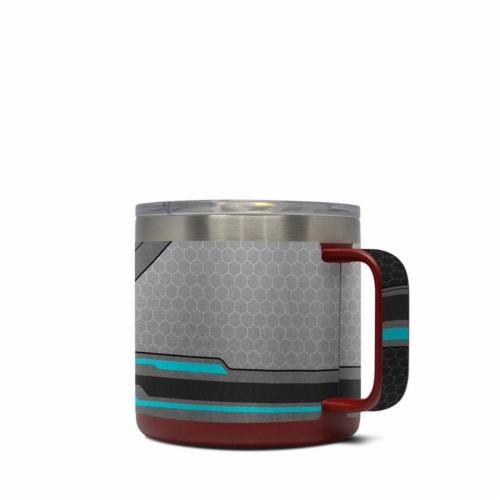 DecalGirl Y14-SPEC Yeti 14 oz Mug Skin - Spec Perspective: front