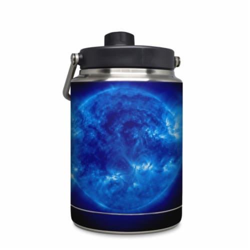 DecalGirl YHG-BGIANT Yeti Rambler 0.5 gal Jug Skin - Blue Giant Perspective: front