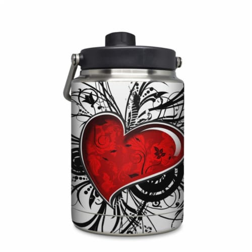 DecalGirl YHG-MYHEART Yeti Rambler 0.5 gal Jug Skin - My Heart Perspective: front