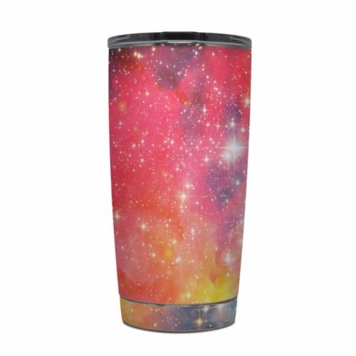 DecalGirl Y20-GALACTIC Yeti Rambler 20 oz Tumbler Skin - Galactic Perspective: front