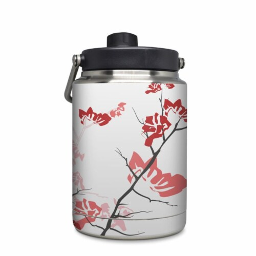 DecalGirl YHG-TRANQUILITY-PNK Yeti Rambler 0.5 gal Jug Skin - Pink Tranquility Perspective: front