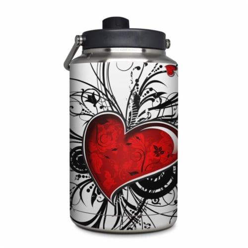 DecalGirl YOG-MYHEART Yeti Rambler 1 gal Jug Skin - My Heart Perspective: front