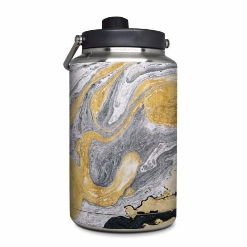 DecalGirl YOG-ORNATEMRB Yeti Rambler 1 gal Jug Skin - Ornate Marble Perspective: front
