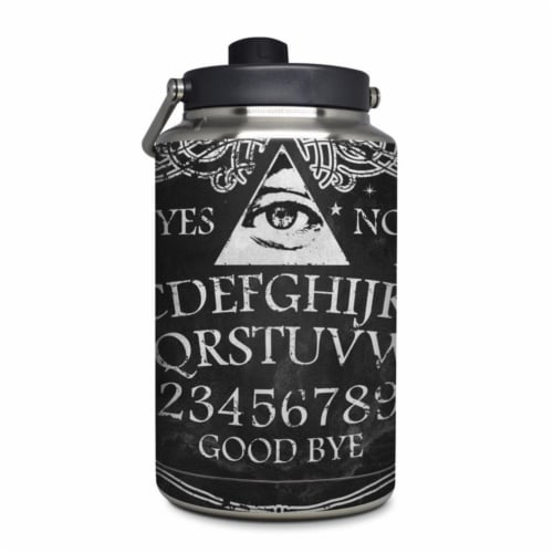 DecalGirl YOG-OUIJA Yeti Rambler 1 gal Jug Skin - Ouija Perspective: front