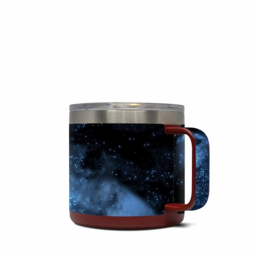 DecalGirl Y14-MILKYWAY Yeti 14 oz Mug Skin - Milky Way Perspective: front