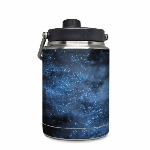 DecalGirl YHG-MILKYWAY Yeti Rambler 0.5 gal Jug Skin - Milky Way Perspective: front