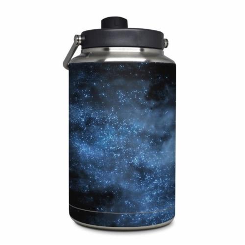 DecalGirl YOG-MILKYWAY Yeti Rambler 1 gal Jug Skin - Milky Way Perspective: front