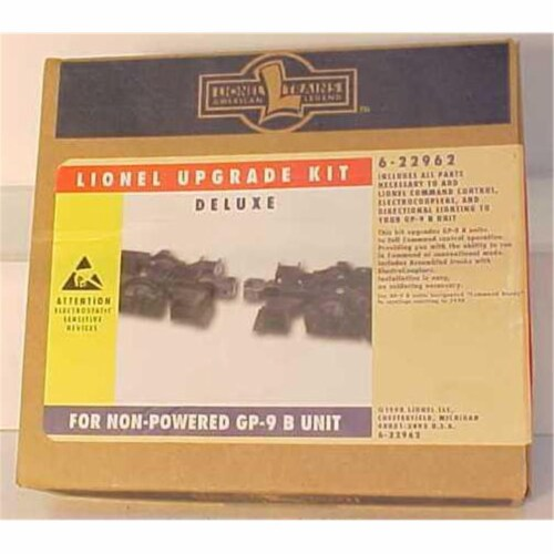 Lionel LNL22962 Deluxe Upgrade Kit for Non-Powered Gp9 B Unit Perspective: front