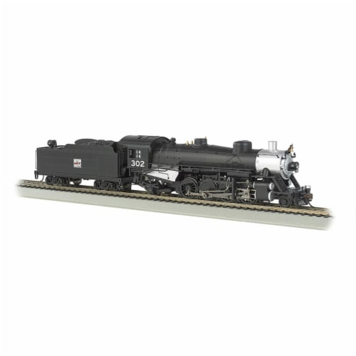 Bachmann BAC54404 HO Scale Western Pacific 2-8-2 Model Train - No.32 Perspective: front