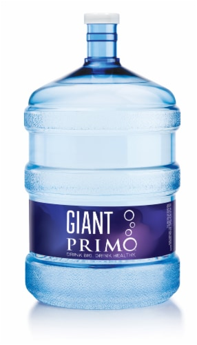 Primo Water 5 Gallon Empty Bottle Perspective: front