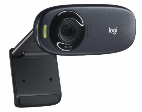 Logitech C310 HD Webcam - Black Perspective: front