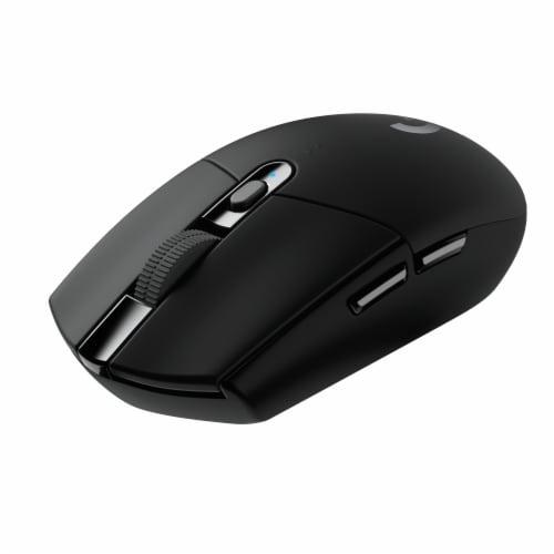 Logitech G305 Lightspeed Wireless Mouse Perspective: front