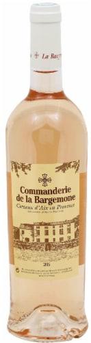 Commanderie De La Bargemone Rose Perspective: front