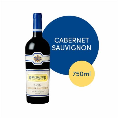 Rombauer Vineyards Cabernet Sauvignon Perspective: front