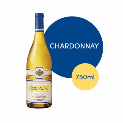Rombauer Vineyards Chardonnay Perspective: front