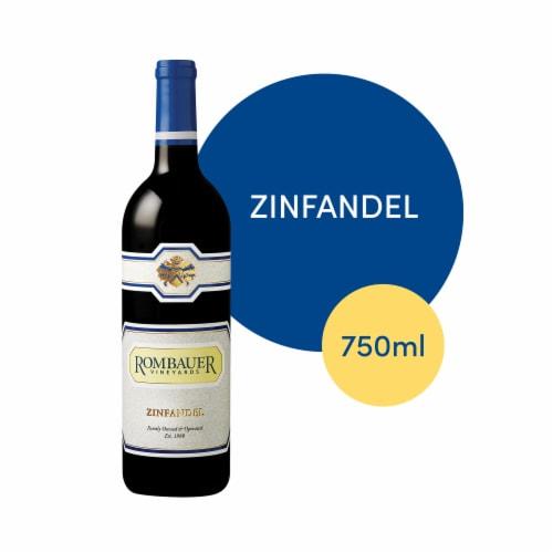 Rombauer Vineyards Zinfandel Perspective: front