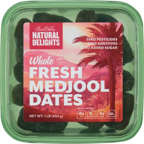 Bard Valley Natural Delights Medjool Dates Perspective: front