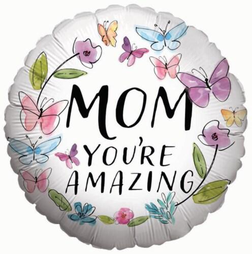 burton + BURTON Mom You're Amazing Balloon Perspective: front