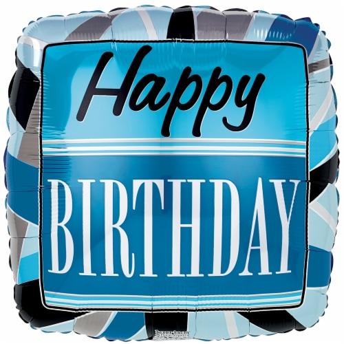 burton + BURTON Happy Birthday Blue / Black Balloon Perspective: front