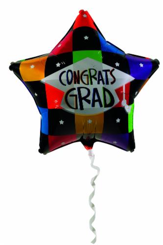 Graduation Non Licensed Graduation Mylar Balloon Perspective: front
