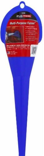 Flo Tool Multi-Purpose Funnel - Blue Perspective: front