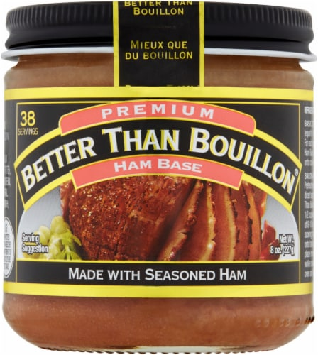 Better Than Bouillon Ham Base Perspective: front