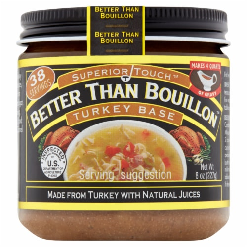 Better Than Bouillon Turkey Base Perspective: front