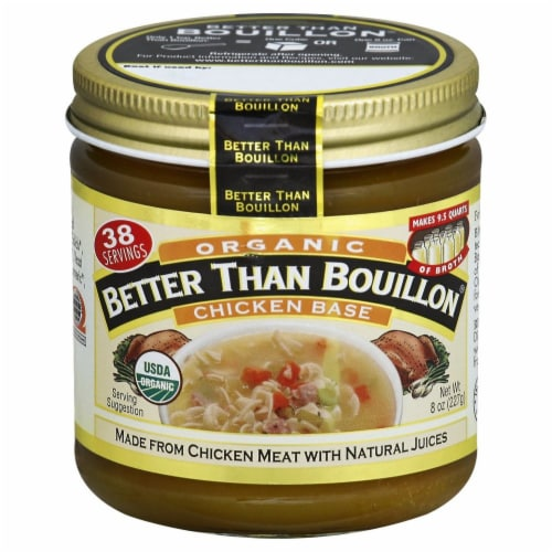 Better Than Bouillon Organic Chicken Base Perspective: front