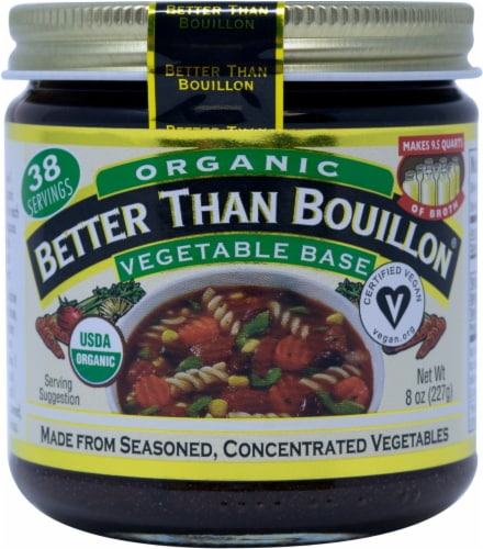 Better Than Bouillon Organic Vegetable Base Perspective: front