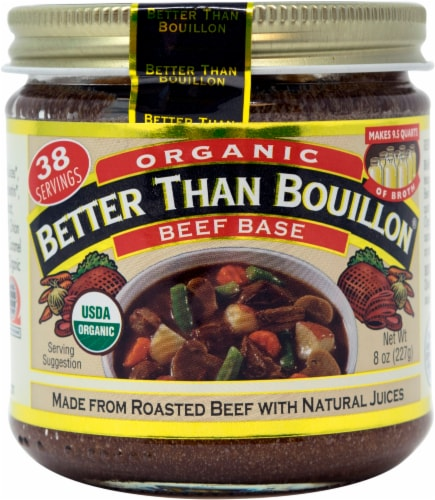 Better Than Bouillon Organic Beef Base Perspective: front