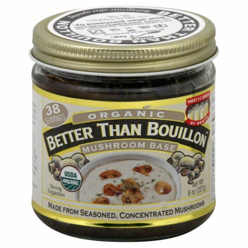 Better Than Bouillon Organic Mushroom Base Perspective: front