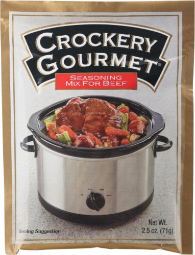 Crockery Gourmet Beef Seasoning Mix Perspective: front