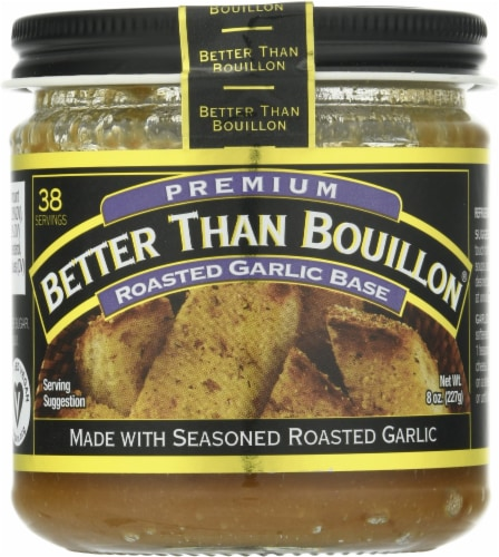 Better Than Bouillon Roasted Garlic Base Perspective: front