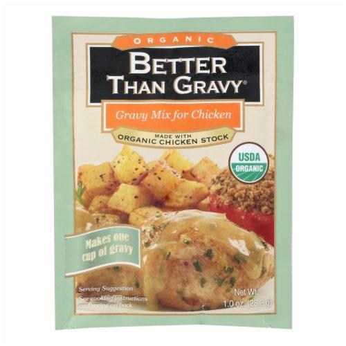 Better Than Gravy Gravy Mix - Organic - Chicken - Case of 12 - 1 oz Perspective: front