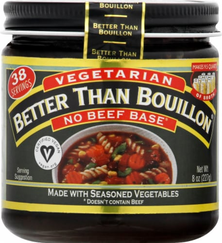 Batter Than Bouillon Vegetarian No Beef Base Perspective: front