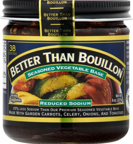 Better Than Bouillon  Vegetable Base Perspective: front