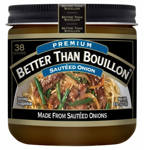 Better Than Bouillon Sauteed Onion Base Perspective: front