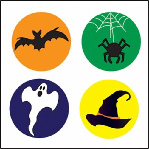 Creative Shapes Etc SE-2657 2 x 8 in. Large Incentive Stickers, Halloween - Pack of 1728 Perspective: front