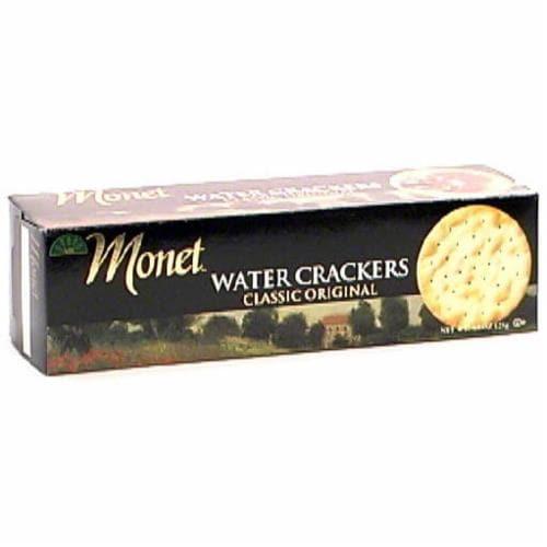Monet Original Water Crackers Perspective: front