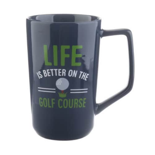 PMI Worldwide Life is Better with Golf Latte Mug Perspective: front
