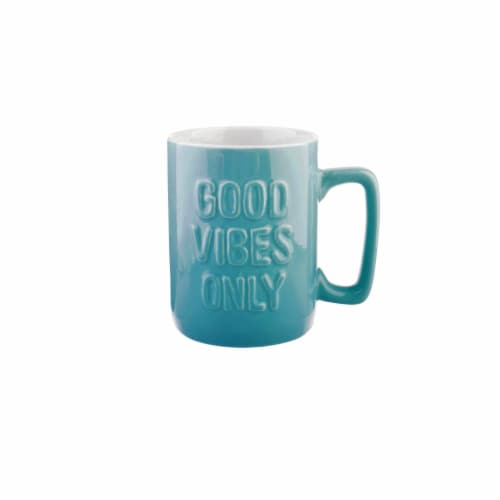 PMI Good Vibes Only Mug Perspective: front