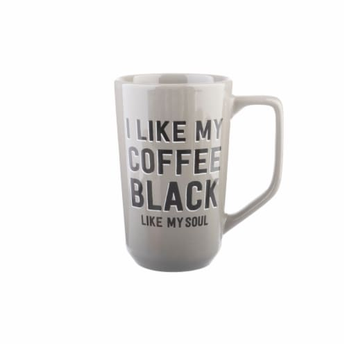 PMI Black Coffee Soul Mug Perspective: front
