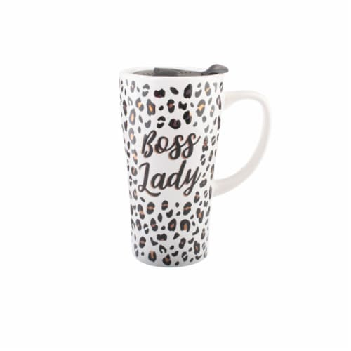 PMI Worldwide Boss Lady Ceramic Mug Perspective: front