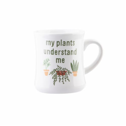 Pacific Market International My Plants Understand Me Coffee Mug Perspective: front