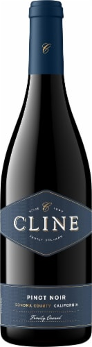Cline Pinot Noir Perspective: front