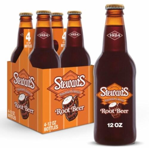Stewart's Root Beer Perspective: front