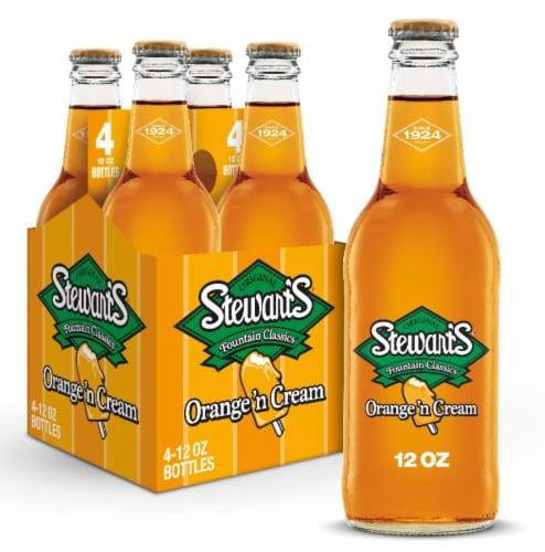 Stewart's Orange 'n Cream Soda Perspective: front