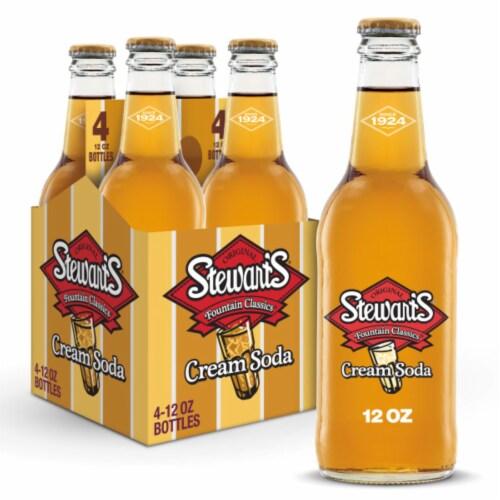 Stewart's Cream Soda Perspective: front