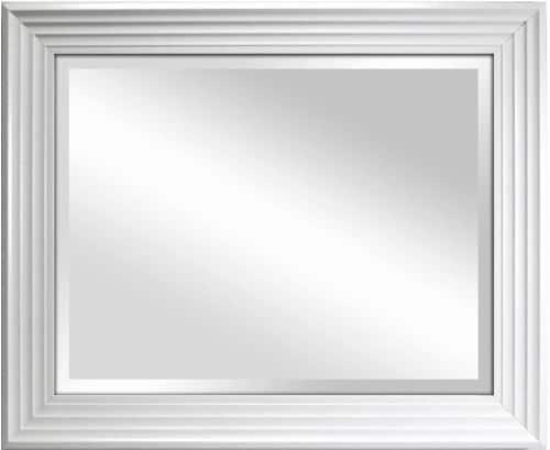 Crystal Art Gallery Ridgeland Mirror - White Perspective: front